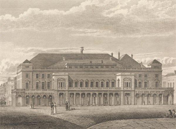 King's Theatre, Haymarket en 1820